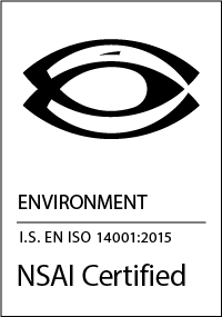 PPI NSAI ISO 14001:2015 Certificate