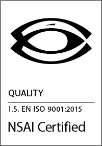 PPI NSAI ISO 9001:2015 Certificate
