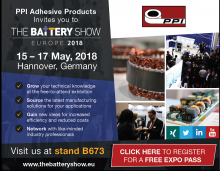 PPI at Battery Show 2018